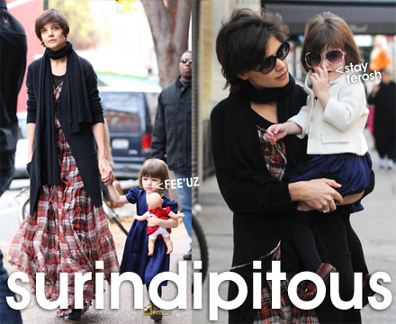 "Okay, Forbes Magazine voted Suri Cruise as the ""hottest Hollywood baby"" in a ..."
