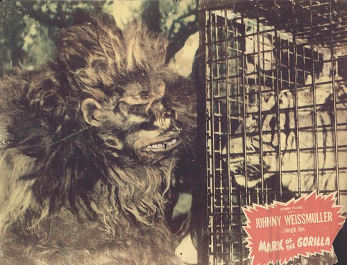 MARK OF THE GORILLA lobby card