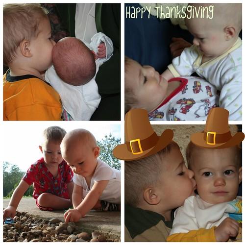 Love Thursday: Thankful for my Boys