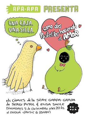 Apa Apa presenta els comics de la serie Grapa Grapa en Duduá