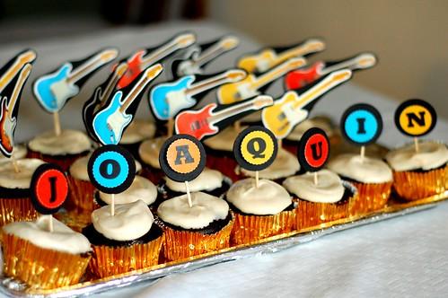 Rockin Cupcakes