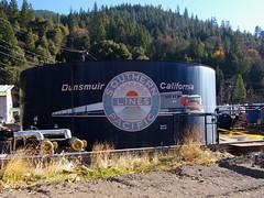 Southern Pacific (TRUE 2 DEATH) Tags: california railroad sign train logo geotagged mural sp locomotive herald southernpacific dunsmuir southernpacificlines dunsmuirca dunsmuircalifornia oregontrip2008 unionpaicific geo:lat=41212755 geo:lon=122271137