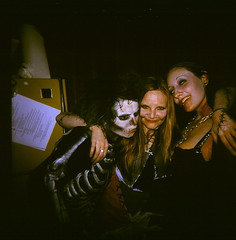 43970006 (The Greenery) Tags: costumes party film halloween night holga scary sally colorholga skeletoncostume color120