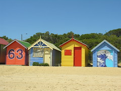 Beach huts 63 - 66