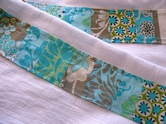 detail of patchwork dishtowel panels. ({ philistine made }) Tags: handmade dishcloth quilted handsewn patchwork daisychain amybutler teatowel dishtowel holidaygifts foursack 100philistinemade