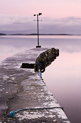 Lough Corrib (dougchinnery.com) Tags: pink blue ireland winter copyright lake holiday west galway tourism beautiful beauty sunrise landscape boats dawn mirror pier still fishing frost sailing view purple jetty fineart frosty rope tourist calm eire quay connemara views western boating weathervane loch watersports visitors visitor vain peir windvane southernireland countygalway oughterard loughcorrib loughside thefatcat44 dougchinnery