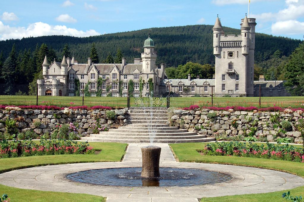 Balmoral castle Grampian Scotland.