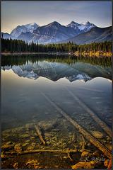 The Two Worlds of Herbert Lake (Maclobster) Tags: lake rockies canadian louise herbert hdr keithgrajala