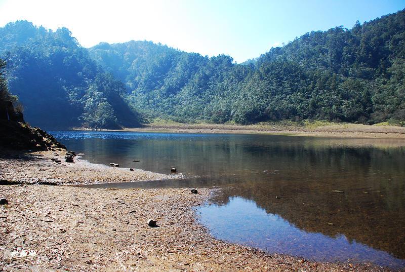 滿水位 松羅湖