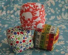 building blocks (Sados da Concha) Tags: handmade sewing crafts tecido buildingblocks cubos