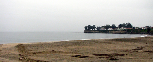 Santa Cruz Beach in the Rain