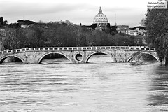 "Rome nearly flooded by river Tevere <a style=""margin-left:10px; font-size:0.8em;"" href=""http://www.flickr.com/photos/24828582@N00/3137165639/"" target=""_blank"">@flickr</a>"