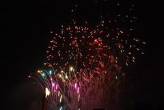 Fireworks, Calton Hill, Edinburgh (ScenicViews) Tags: rainbow fireworks multicoloured
