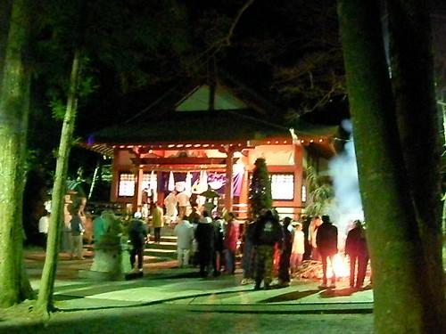 初詣2009 山中湖浅間神社