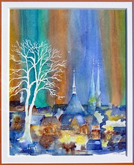 Art: aquarelle: ...Luxembourg et Grande Rgion, 2007... (Nadia Minic) Tags: blue art skyline night watercolor painting photo interestingness europe artist gallery foto nacht kunst aquarelle kultur culture galerie exhibition ombre bleu exposition painter watercolour blau luxembourg nuit artcontemporain schatten baum gebude oeuvre couleur ville interessantes atelier posie acuarelas aquarell beauxarts maler harmonie saarlorlux acquarello pittrice artistepeintre cityofluxembourg aquarelliste stadtluxembourg grandergion villedeluxembourg watercolourpainter nadiaminic nadiaart aquarellistin aquarellmalerin luxembourgpainting peintureluxembourg luxembourgartistepeintre