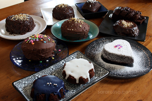 10 Mini-Cakes for a Birthday