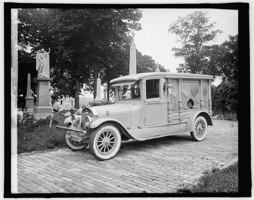 hearse 1924 lincoln