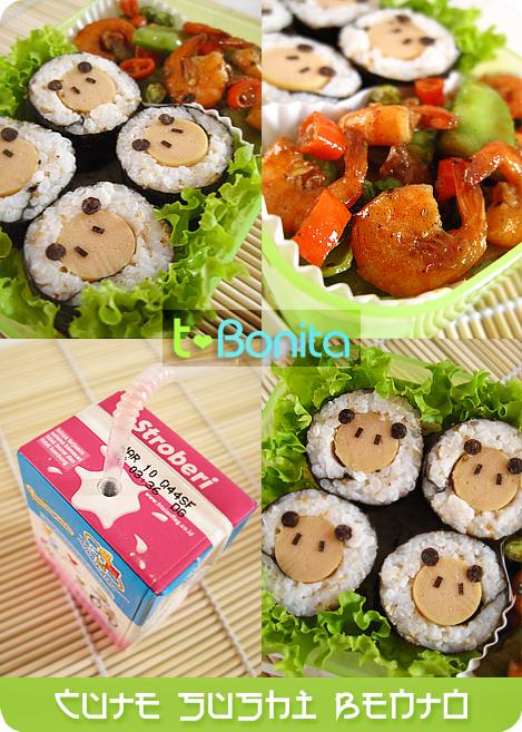 Cute Sushi Bento 2