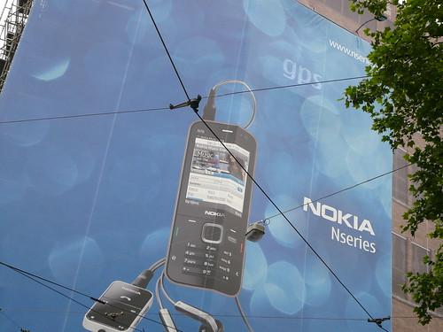 Nokia N78 BILLBOARD Rembrandtplein