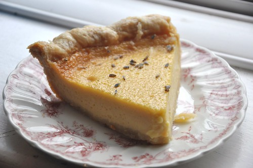 Lavender and Honey Pie