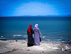 The other side of gibraltar 2 (isac babel) Tags: hijab