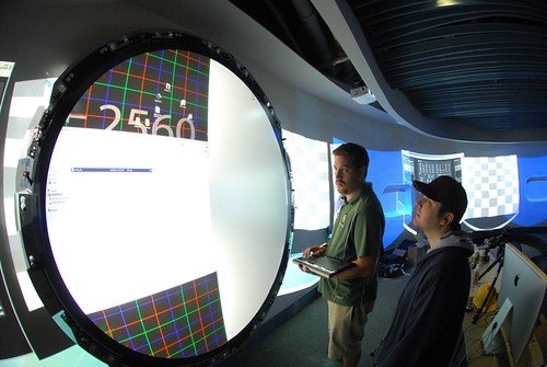 Calibrating the 7 Foot Multitouch Wall