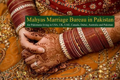 Marriage Bureau in Pakistan