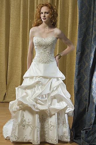 Silk Taffeta Wedding Dress 6