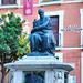 Sevilla. Plaza del Salvador. Monumento a Juan Martinez Montañés.