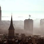 Le Havre: Porte Océane brume