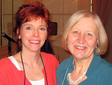 Lori Devoti and Barbara Vey