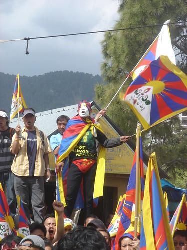 free tibet man