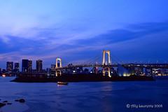 Rainbow Bridge (Lil Snoop) Tags: travel bridge japan tokyo rainbow odaiba