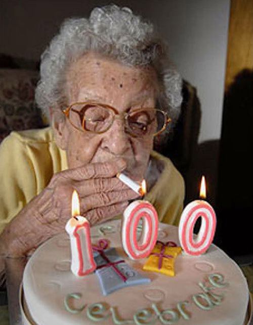 smokin' at 100