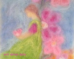 -       Needle felt wool painted picture (orit dotan) Tags: baby flower wool fairytale felted children waldorf arts picture felt fairy handpainted  creations   steiner needlefelt naturalmaterials  naturalkids      oritdotandolls          dollsartist