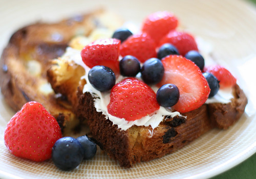 Summer Berry Mascarpone Sandwich