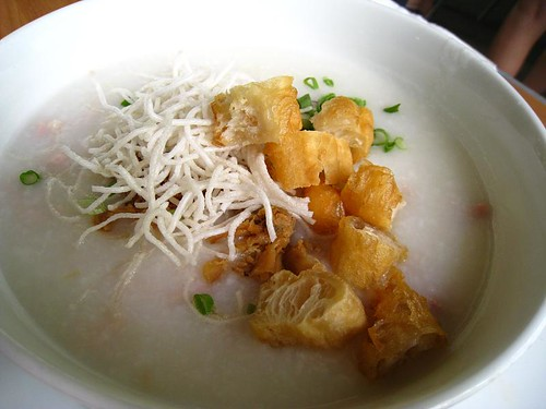 Chicken Congee @ Cafe Les Amis
