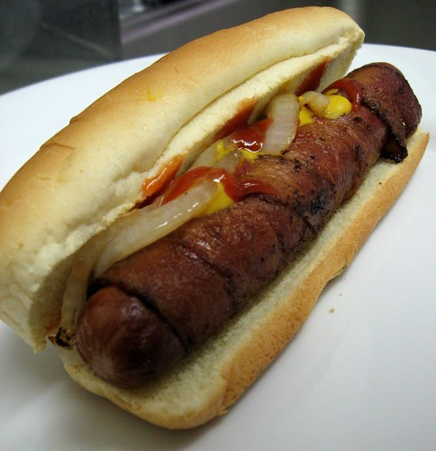 Bacon Hot Dogs