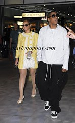 beyonce & jay-z going somewhere