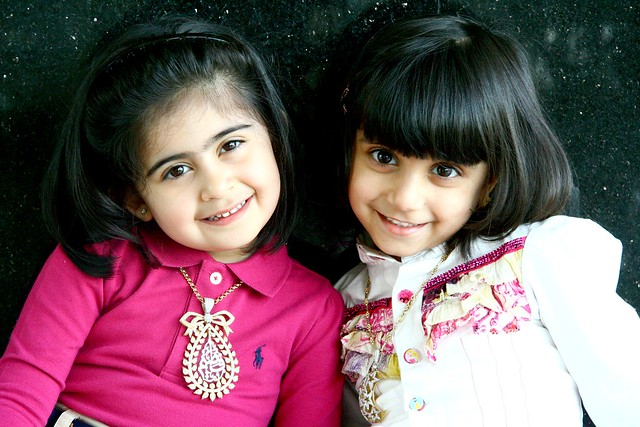 smiling little girl, F6aim & Fa6ma