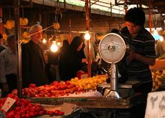 Fresh Produce Market (**El-Len**) Tags: travel iran market persia bazaar tabriz