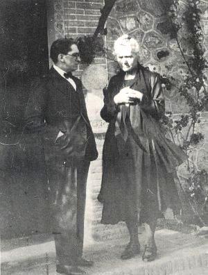 Madame Curie en el Cigarral de Marañón