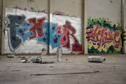 Spray Paint And Graffiti