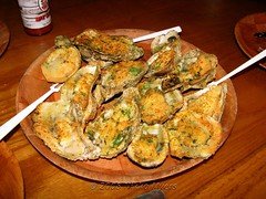 Cleveland Baked Oysters (Nikko Myers) Tags: sunset food beach saint st breakfast dinner sunrise fun lunch store funny day adult bills florida lol cook petersburg eat pete tina fl xxx nikko crabby nam myers