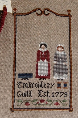 Embroidery Guild as of 6/26/08