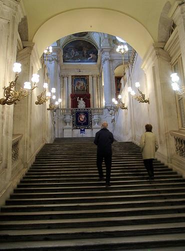 PalaceStairs.Madrid