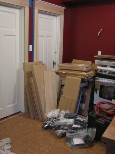 Unassembled kitchen - 1