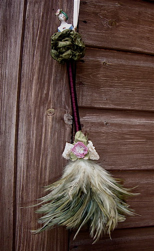 Rustic Feather Duster