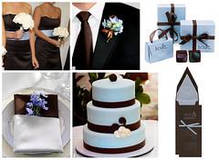 2647415384 4210e67afd m Baú de ideias: Decoração de casamento marrom (chocolate) e outras cores