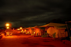 Camel camp (... Arjun) Tags: longexposure camp 15fav india topf25 1025fav 510fav marquee site beige nikon asia group 100v10f tent gazebo camel oasis